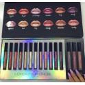 Caja de Labiales HUDA BEAUTY 15 Colores